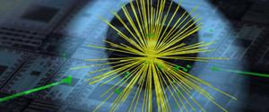 Higgs boson event
