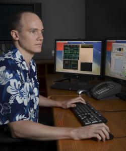 Evan Kirby, Caltech assistant professor of astronomy