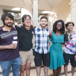 Alumni at Dabney House Reunion Event