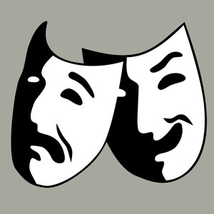 image of drama masks