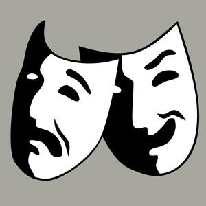 image of drama masks