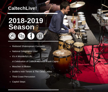 image of advance flyer for the 2018-2019 season