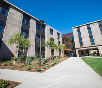 Bechtel Residence Courtyard