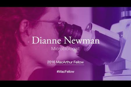 Microbiologist Dianne Newman | 2016 MacArthur Fellow