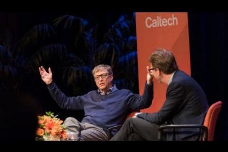 Bill Gates Conversation with Caltech Students - 10/20/2016