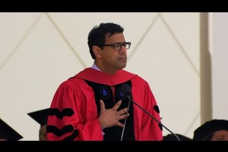 Watch the Caltech Commencement address by Dr. Atul Gawande