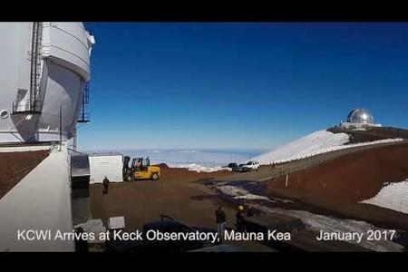 KCWI Arrives at Keck Observatory - January 2017