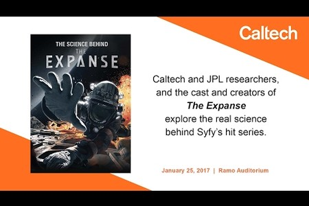 """The Science Behind """"The Expanse"""" - 1/25/17"""