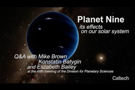 Planet Nine Tilts the Sun!  Q&A with Caltech Astronomers