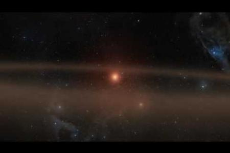 Young Star and Its Infant Planet (Artist's Animation)