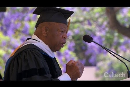 Caltech Commencement Address - John Lewis - June 15, 2018