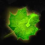 Illustration of artificial leaf