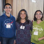 Members of the Butkovich family at Caltech Family Weekend 2018