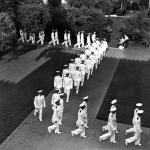 Members of the V-12 navy unit at Caltech in 1941