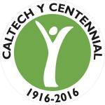 image of the Caltech Y's centennial logo
