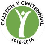 image of the Caltech Y's centennial logo