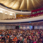 photo of audience at Convocation 2017 in Beckman Auditorium