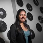 A portrait of student Roohi Dalal