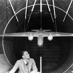 archive photo of the GALCIT wind tunnel