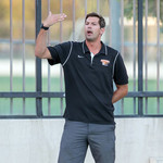 Caltech men's water polo head coach Jon Bonafede