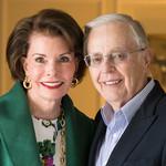 photo of Lynn Booth and Kent Kresa