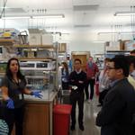 Students at Craig Venter Institute