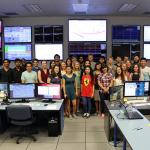 LIGO SURF students in the control room