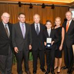 group photo with Donald Bren and Millikan Medal