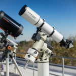 photo of telescopes