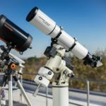 photo of telescopes