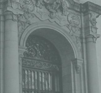 photo of the front of the Parsons-Gates building