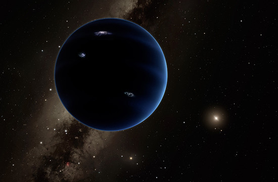 artistic rendering of Planet Nine
