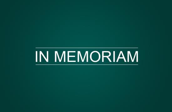 """image reading """"In Memoriam"""""""