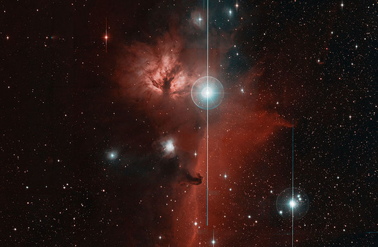photo of the Horsehead nebula