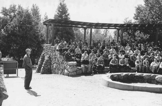 Frosh Camp in the early 1950s
