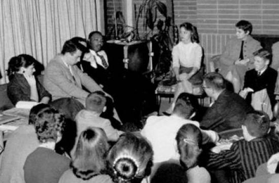 The Rev. Martin Luther King, Jr. visits Caltech in 1958