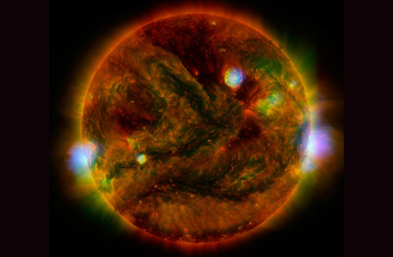 image: active regions of our sun