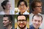 composite image of six new Caltech faculty