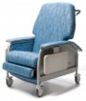 Deluxe Extra Wide Clinical Recliner w/Heat & Massage