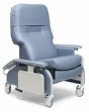 Deluxe Drop-Arm Clinical Recliner w/Heat & Massage