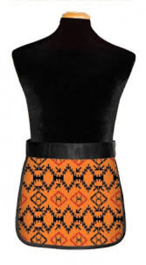 Demi Apron Set with Hook-and-Loop Closure