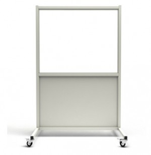 Mobile Leaded Barrier with Window, #LB-3648