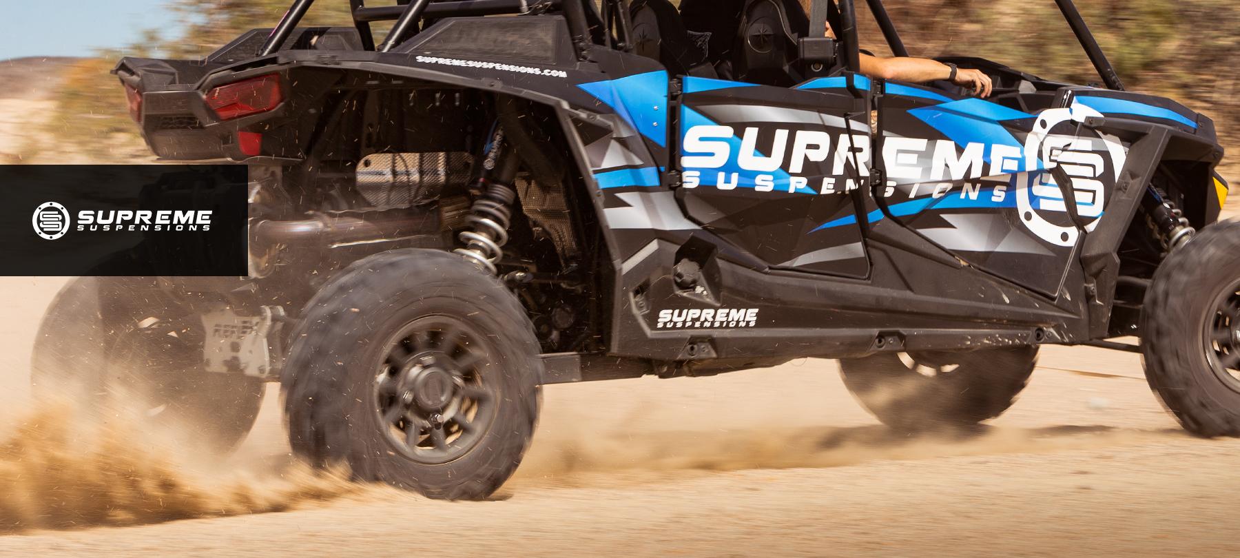 """SR Honda Foreman Rubicon 400 450 500 ATV Complete 2.5/"""" Lift Spacer Kit BLACK"""
