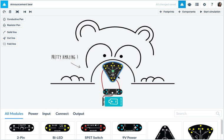 free online circuit scribe app  perfect for kids and teachers