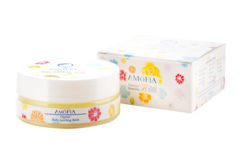AMOFIA Organic Baby Soothing Balm (Patented) (Dermatologist Tested) (Clinically Proven)