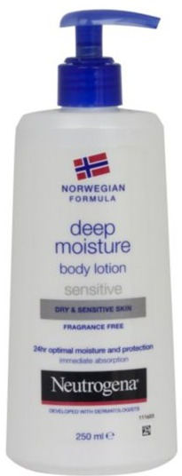 Neutrogena Norwegian Formula Deep Moisture Body Lotion Sensitive