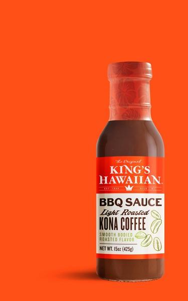 King'S Hawaiian BBQ Sauce Light Roasted Kona Coffee   12Source