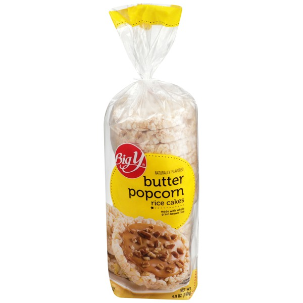 Big Y Butter Popcorn Rice Cakes 1source