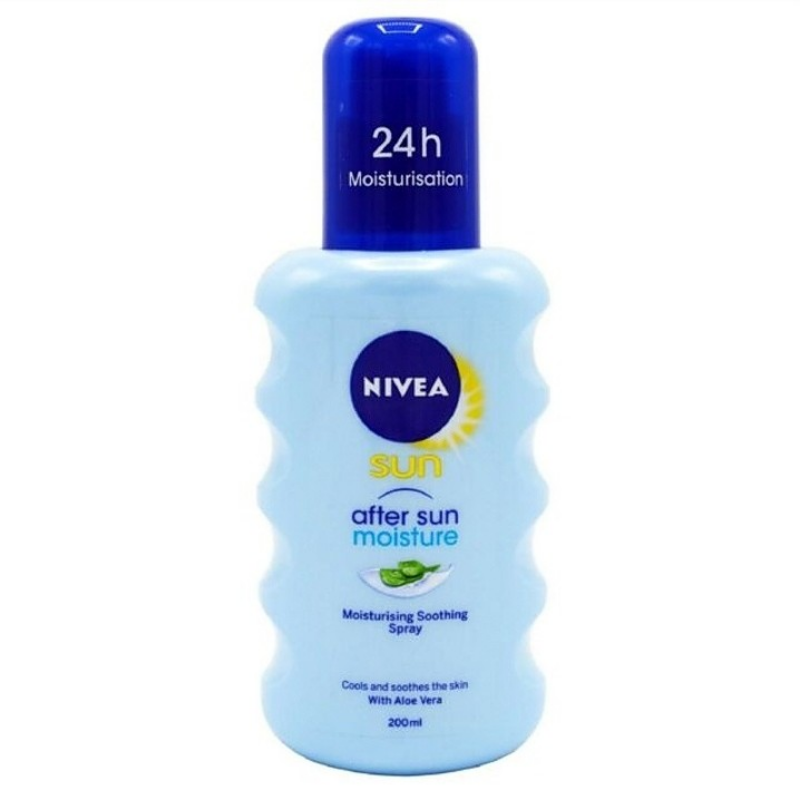 Nivea Sun After Sun Moisture Moisturising Soothing Spray With Aloe Vera 48h 1source