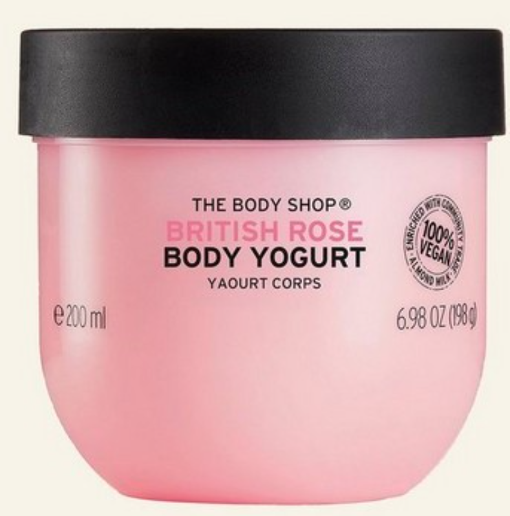 The Body Shop Vegan British Rose Body Yogurt